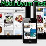 Web Siteniz Mobil Uyumlumu?