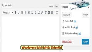 wp-eski-editor